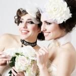 Белоснежные розы для невесты