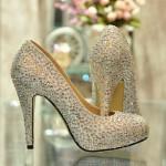 Свадебная обувь 2013
