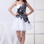 Роскошное мини платье для невесты