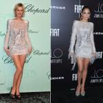 Одинаковые платья на звездах смотрятся совершенно по-разному
