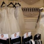А вот и свадебные платья