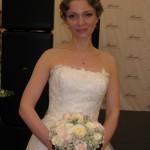 Роскошная невеста - участница мероприятия
